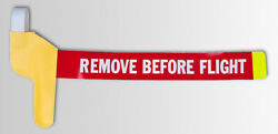 High Visibility Pitot Tube Cover - Remove Before Flight Rbf - Degroff Aviation