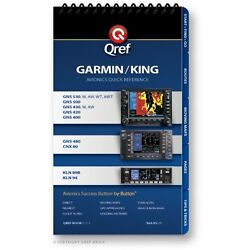 Garmin/king Combo 530/430/480/cnx 80 And Kln 94/89b Checklist Book By Qref