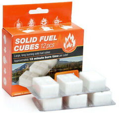 Esbit Solid Fuel Cube Tablets Camping Stove Fire Starter 12pc X 14g