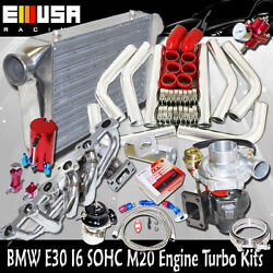 Wt3/t4 Turbo Kits For 86-88 Bmw 325 Base Coupe 2d/sedan 4d I6 Sohc M20 Engine