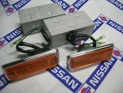 Datsun 1200 Side Flasher Lamp Assand039y Genuine Fits Nissan B110 B120 Ute Sunny