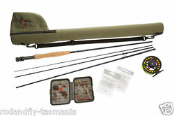 Fly Fishing Combo Entry-intermediate Level 5/6 Hi-end From Aussie Guide