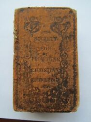 Vintage Bible Society For Promoting Christian Knowledge 1822