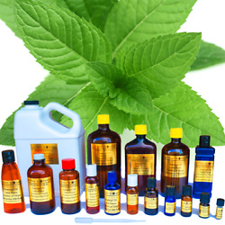 Peppermint Eucalyptus Essential Oil - 100 Pure Natural - Sizes 3 Ml To 1 Gallon