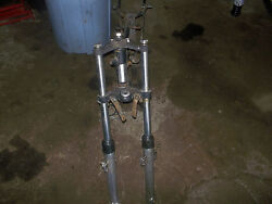 Harley 197 125 Sx Frame/front Forks I Have Lots More Parts For This Bike/others
