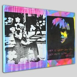Andy Warhol Original By Gail Rodgers One-of-a-kind Hand-pulled Silkscreen Wcoa