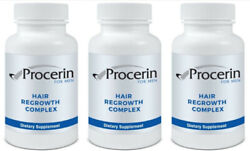 Procerin Hair Regrowth Complex - 3 Bottles - New Formula Exp 12-2023
