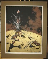 Tanya Kohn Surrealist Lithograph Liberacion Listed Mexican Artist