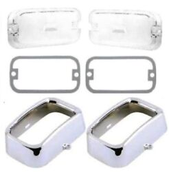 Parking Light Bezels - Lenses - Gaskets For 1972-1974 Plymouth Barracuda E-body