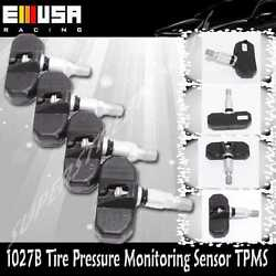 1set 4pcs Tire Pressure Sensor Tpms For Bmw 06-10 5/ 6/ 7 /m /z Series1027/20083