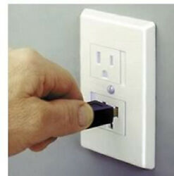 25 Pack Mommyand039s Helper Safe Plate Sliding Outlet Cover White-almond-brown 79211