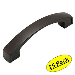 25 Pack Cosmas Oil Rubbed Bronze Arch Cabinet Handles Pulls 616-96orb