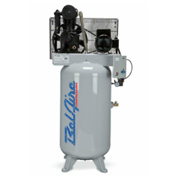 Belaire Iron Series 5-hp 80-gallon Two-stage Cast Iron Air Compressor 208-23...