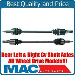 New Rear Left And Right Axles Fits For Chrysler Pacifica All Wheel Drive 04-08