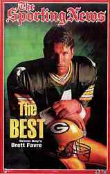 1997 Brett Favre The Best Sporting News Gb Packers Norman James Poster Oop