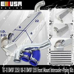 Fmic Intercooler+piping For08-11 Bmw 135i Base Coupe/convertible 2d 2.5 3.0l