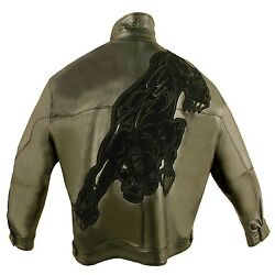 Pelle Pelle, Panther, Leather Jacket, 2025b, Limited Edition