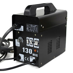 New Mig130 Auto Feeder Core Wire Welder Welding Machine With Spool Wire And Fan N