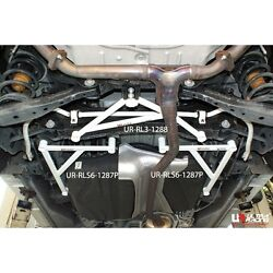 Mazda 8 Ly 2.3 2008 Ultra Racing Rear Lower Bar 6 Points Comes In Pair