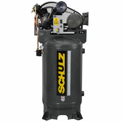Schulz V-series 5-hp 80-gallon Two-stage Air Compressor 230v 1-phase