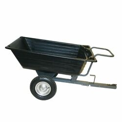 Precision Products 10 Cubic Foot Push/ Pull Poly Dump Cart