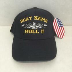 Uss Thresher Ssn 593- Embroidered Submarine Ball Cap - Made In Usa - Bc Patch