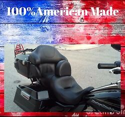 Made In The Usa Harley Davidson Driver Backrest Electra Glide Ultratri