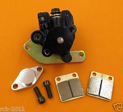 REAR HYDRAULIC BRAKE CALIPER FOR YAMAHA RAPTOR 660 2001-2005 YFM660 WITH PADS