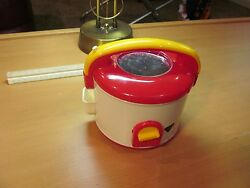 Rare Partyqueen Japan 1960's Toy Stove And Cooking Pot Collectibles
