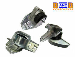 Smart Engine Mount Set Fortwo 42 450 Cabrio Roadster City Metzger Febi A763