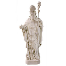 + Statue Of St. Patrick + 72 Tall + Antique Marble Color + Shipping Available +