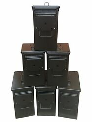 BLANK 6 CANS! BRAND NEW MIL-SPEC TALL 50 CAL PA-19 EMPTY AMMO CAN RARE