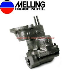 Melling Hp Oil Pump Fits Some V6 And V8 Sb Chevy 400 350 327 307 305 283 267 409
