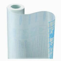 3 Rolls Clear Transparent Liner Contact Wall Paper Peel Stick Self Adhesive 27'
