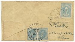 Csa Turned Cover Scott 2 Knoxville Tn 7 Pair Spring Place Ga 1862 Vf