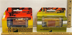 Vintage Matchbox Packaging Samples Deco Masters Cattle Truck And Horse Trailer Nib