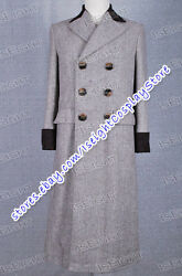 Who Is The Dr Doctor Wenge Brown Trench Coat Movie Cosplay Costume High Quality
