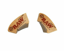 Raw Cone Tips Natural For Rolling Paper Filter Tip Any Size King 78mm 79mm 110mm