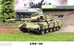 1/72 Diecast Tank AMX-30 France Military Model Toy Eaglemoss