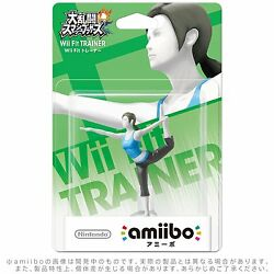 new wii fit trainer amiibo figure for 3ds