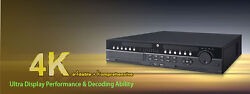 64 Channels Super 4k Network Video Recorder With 32tb Installed