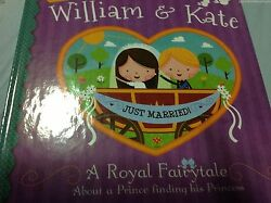 New William And Kate Royal Child Book Kids Doll Wedding Princess