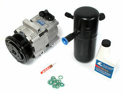New AC Compressor Kit Ford Crown VictoriaGrand MarquisLincoln Town Car 98-02