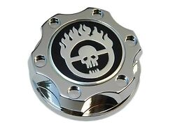 Chrome Mad Max Racing Cnc Billet Engine Oil Cap For Gm Ls1 Ls2 Ls3 Ls6