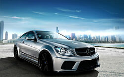 Mercedes  C Class coupe body kit package 3 fx