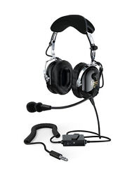 Faro G2 Active Noise Reduction Anr Helicopter Pilot Headset - U174 - Mp3 Input