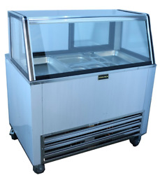 Cooltech 48 Salad Bar With Double Duty Glass Top