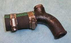 Mga Mgb Radiator Hose Union A4147 Lower Heater Steel Outlet
