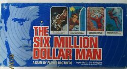 6 Million Dollar Man Game, All Pieces Are Present, Box Is In Very Good Shape