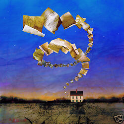 Maggie Taylor Poet's House Ltd Edition Original Print 15x15 Signed By Artist